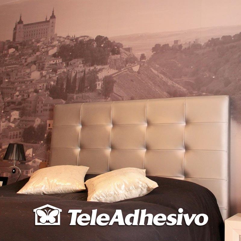 Fotomural cabecero cama Escorial