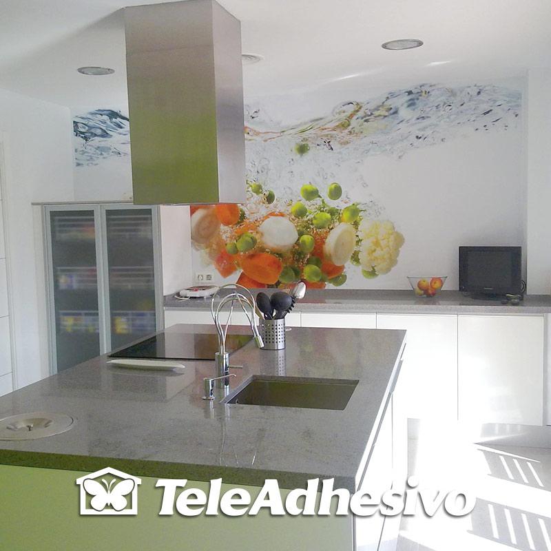 Fotomural cocina