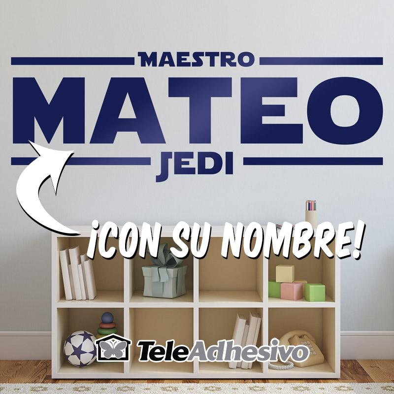Vinilo Maestro Jedi Star Wars