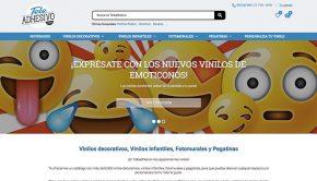 Nueva web TeleAdhesivo - Home