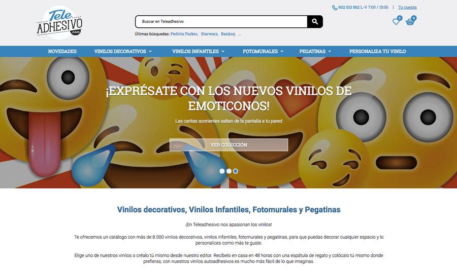 Nueva web TeleAdhesivo