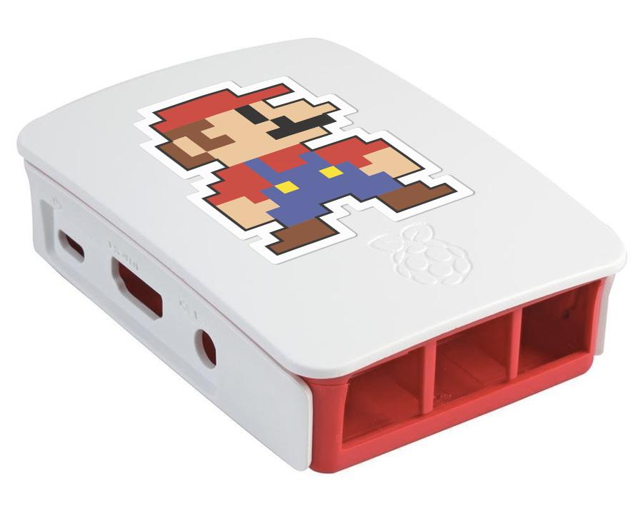 Carcasa personalizada con vinilo Raspberry Pi 3
