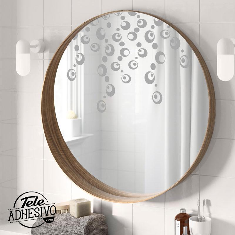 Decorar espejos con vinilo blog teleadhesivo for Espejos decorativos bano