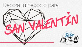 Decora negocio para San Valentín