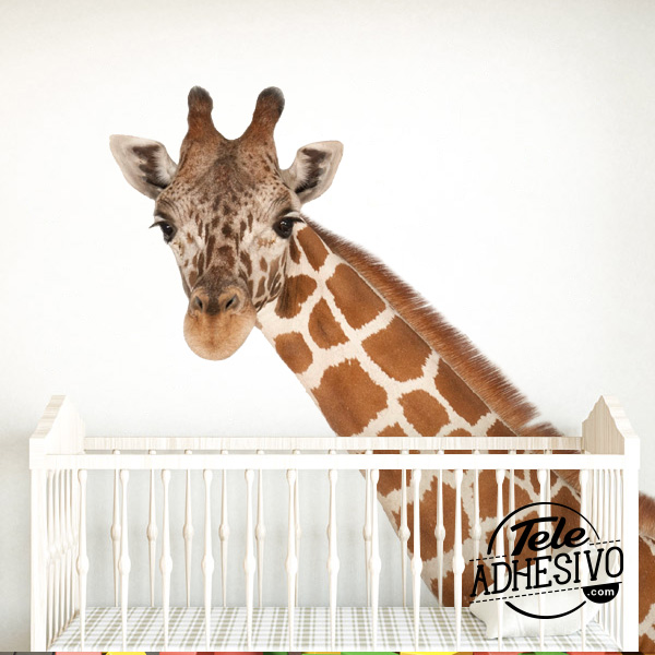 Decoración guardería jirafa