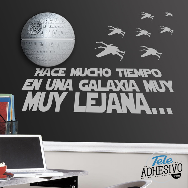 Vinilo con lámpara Star Wars