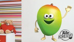 Vinilo decorativo de mango