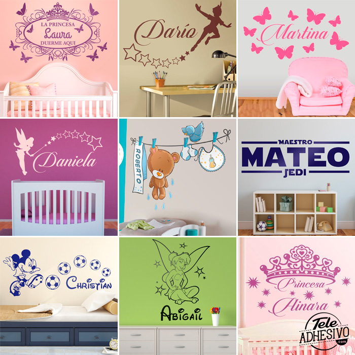 Ideas para vinilos decorativos personalizados blog for Vinilos decorativos personalizados