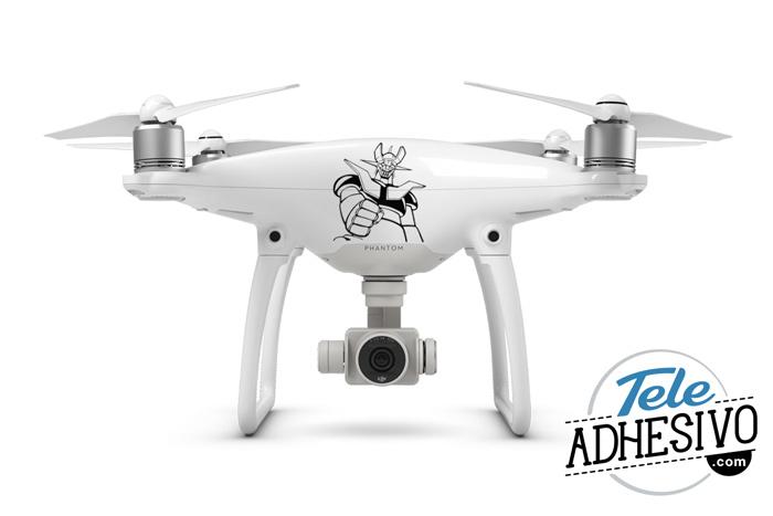 Decorar drone con vinilo adhesivo
