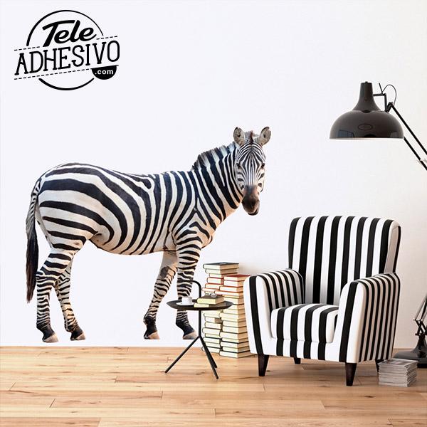 Fotomural animales: cebra