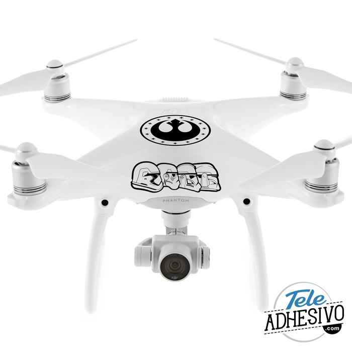 Phantom 4 pegatinas Star Wars