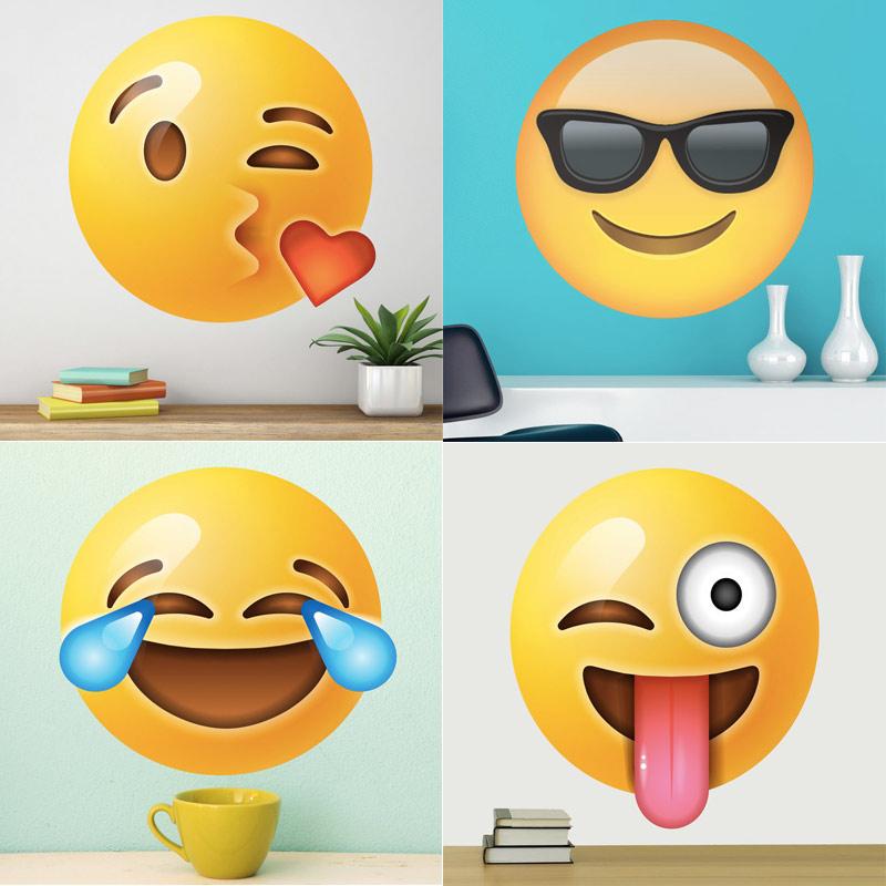 Vinilos de Emoji para regalo de comunión
