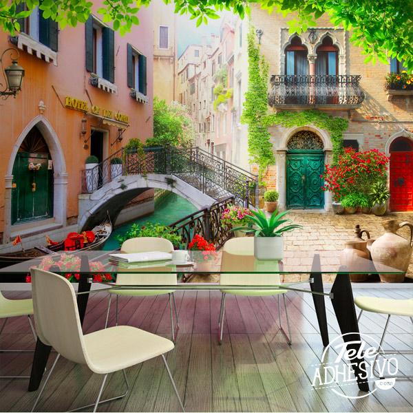 Fotomural Venecia y sus canales