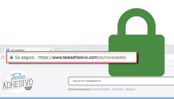 HTTPS blog TeleAdhesivo