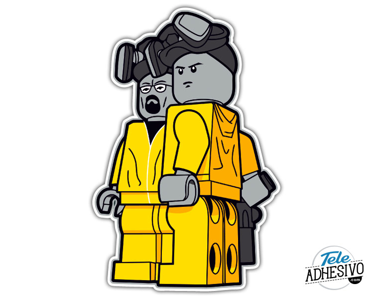 Lego Breaking Bad Jesse y Walter White