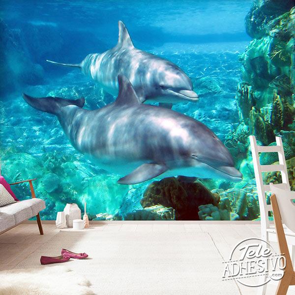 Regalo buenas notas delfines