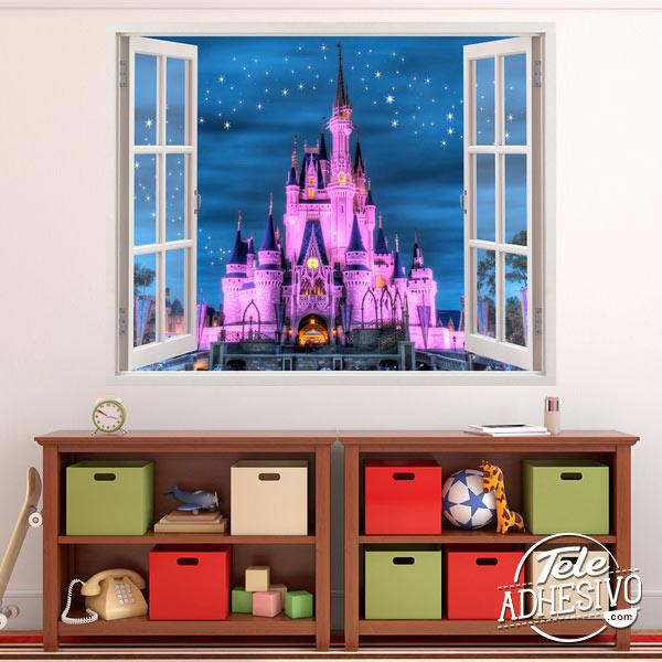 Vinilo castillo Disney