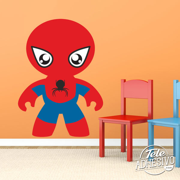 Vinilo infantil Spiderman
