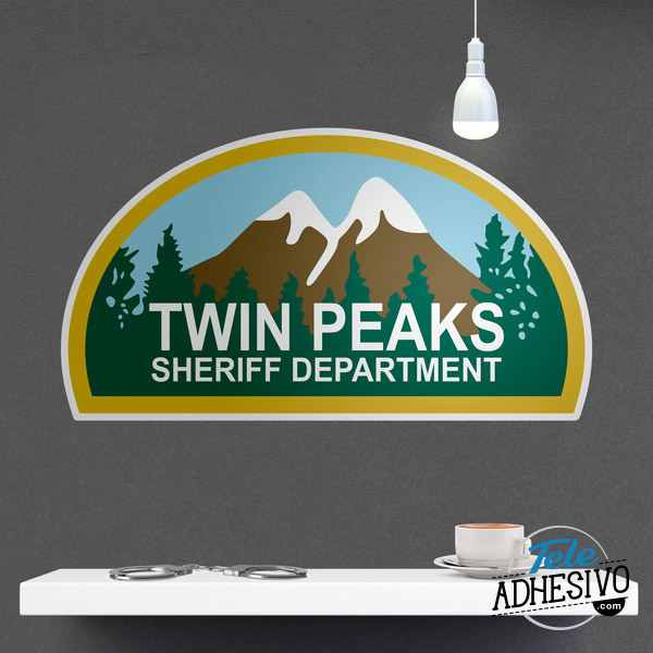 Vinilo decorativo Twin Peaks Sheriff Department