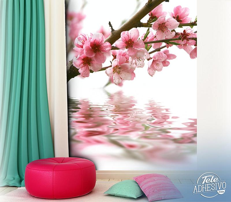 Fotomural almendro en flor