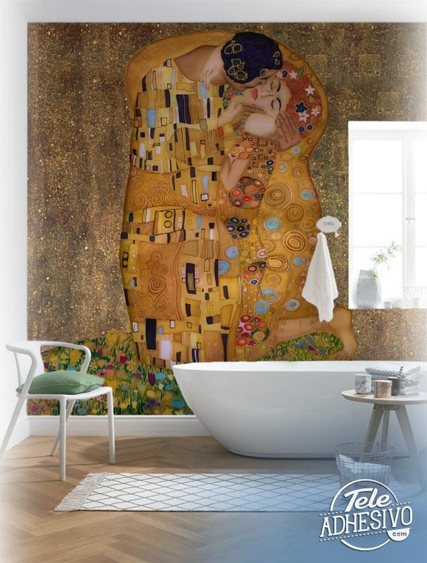 Fotomural Beso de Klimt
