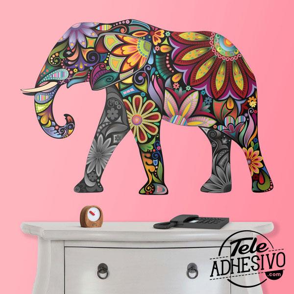 Fotomural elefante hindú