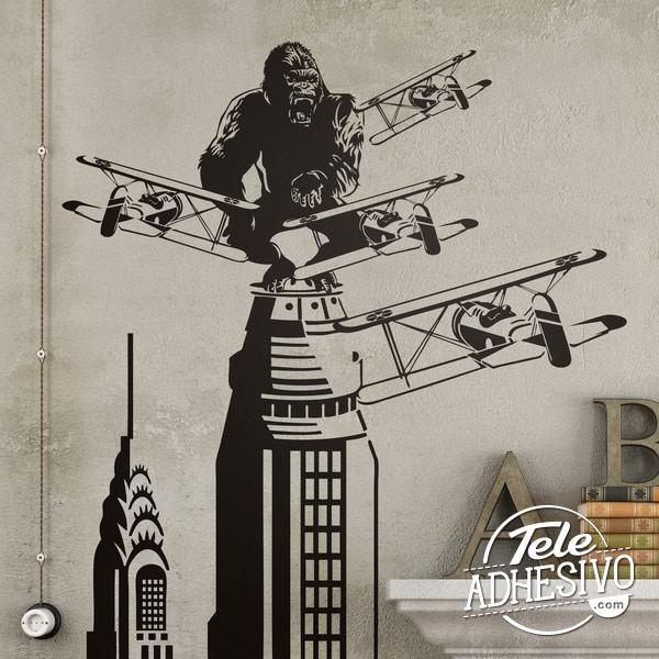 Fotomural escena King Kong en Empire State
