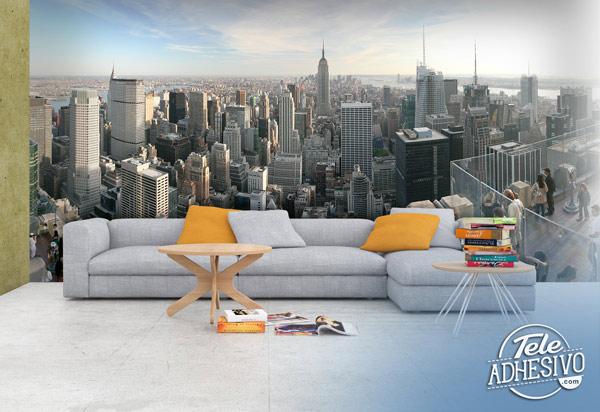 Fotomural Nueva York azotea