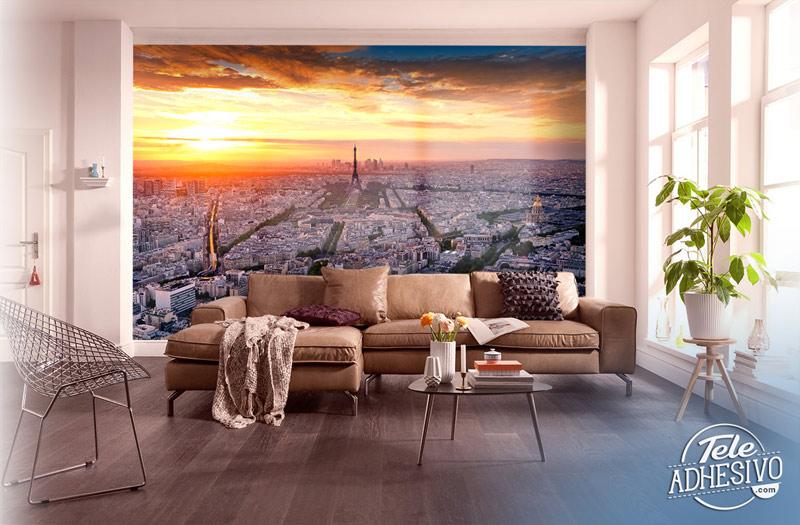Fotomural París: vista aérea