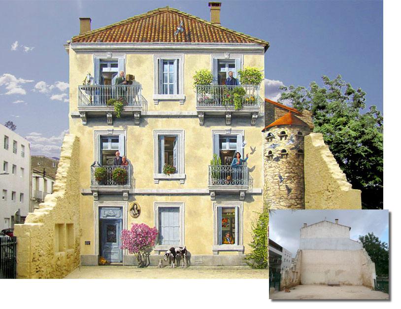 Trampantojo de Patrickk Commecy en Montpellier
