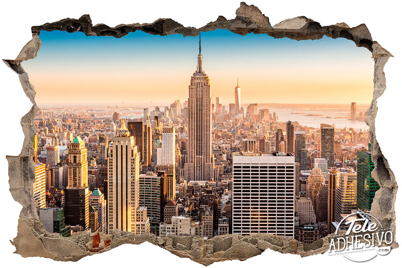 Trampantojo ventana a Nueva York