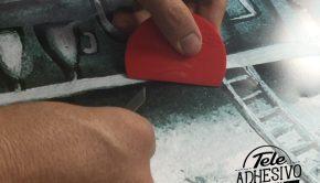 Quitar burbujar vinilos adhesivos destacada