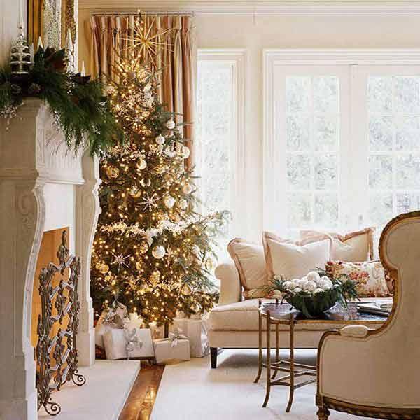Colores para decorar en invierno dorado