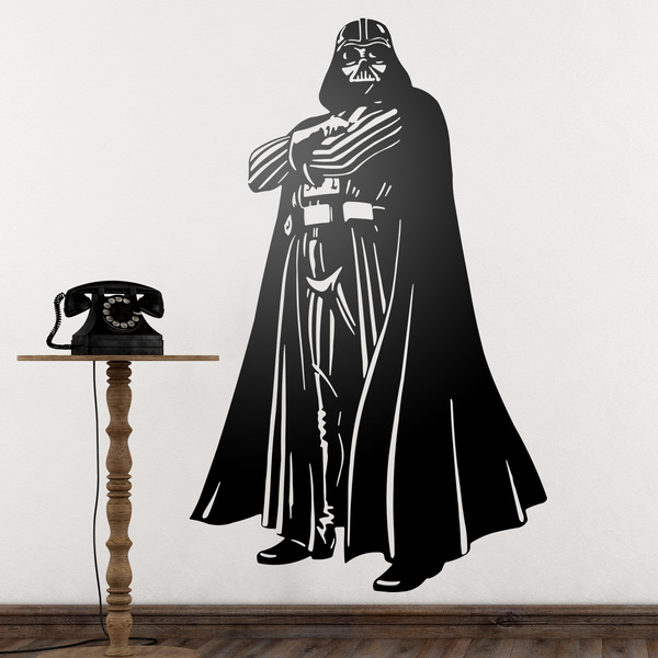 vinilos decorativos star wars darth vader