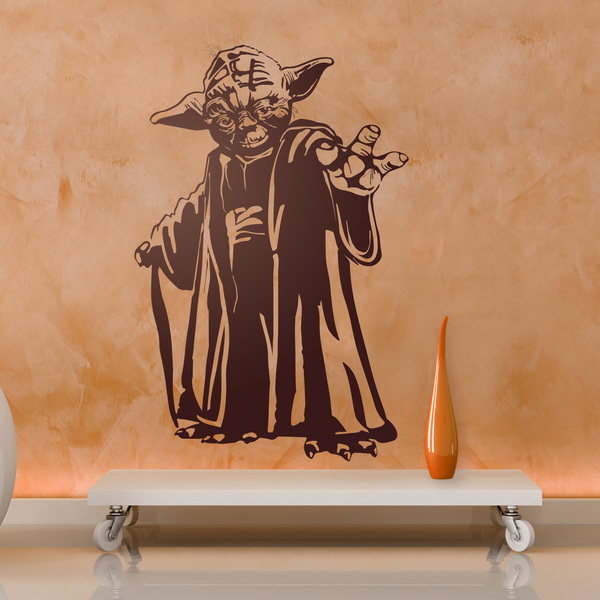 vinilos decorativos star wars maestro yoda