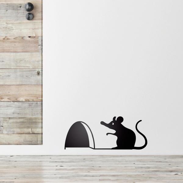 vinilo decorativo dia del orgullo friki raton
