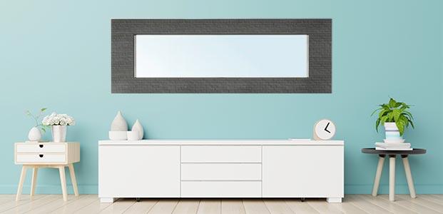 Personaliza tu espejo de Ikea con un vinilo