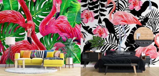 Ejemplos decoración con vinilos estilo kitsch