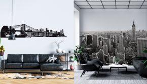 Skyline y fotomural deNueva York