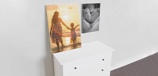 Lienzos con fotografías personalizadas