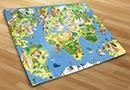 Fotomurales mapa infantil