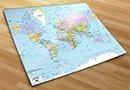 Fotomurales mapamundi 1