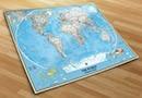 Fotomurales mapamundi 2
