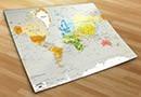 Fotomurales mapamundi 3