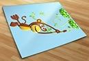 Vinilos infantiles mono 3