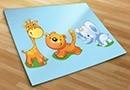 Vinilos infantiles zoo 2