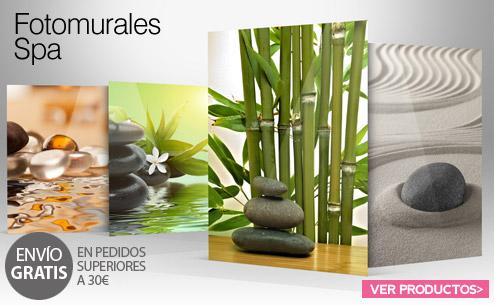 Fotomurales personalizados decorativos e infantiles para - Decoracion zen spa ...