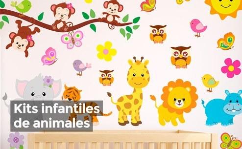 Vinilos decorativos vinilos infantiles fotomurales for Pegatinas para pared infantiles