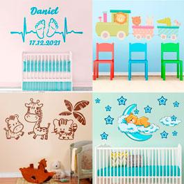 Vinilos infantiles personalizados y decorativos para tu pared - Vinilos infantiles disney para paredes ...