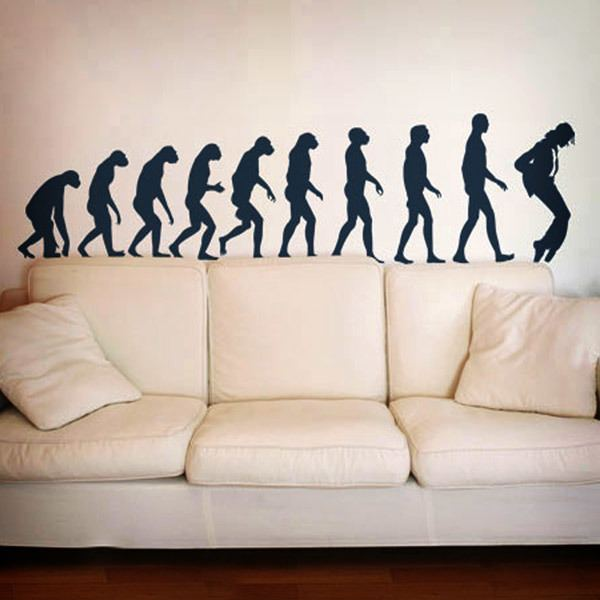 Vinilos Decorativos: Evolution Jackson
